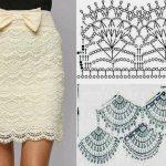 Modele jupe tricot femme