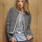 Modèle de gilet à tricoter pour femme