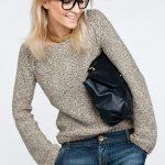Pull femme à tricoter facile