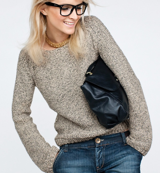 tricot facile pull femme