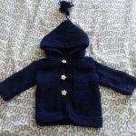 Tricot veste bébé facile
