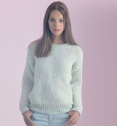 pull simple femme a tricoter