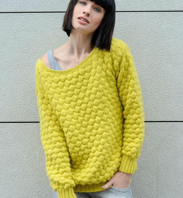 tricoter un pull en laine