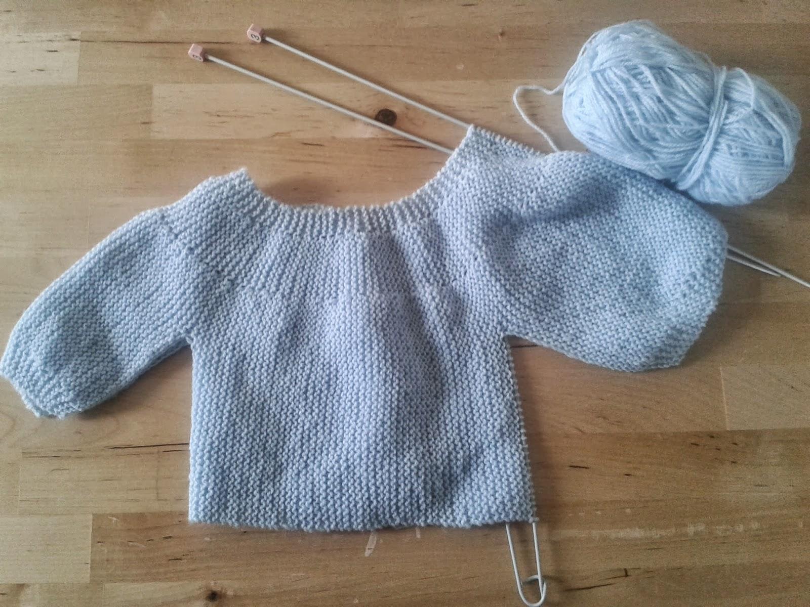 tricoter une brassiere facile