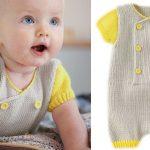 Layette pour bebe a tricoter