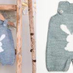 Combinaison tricot bébé