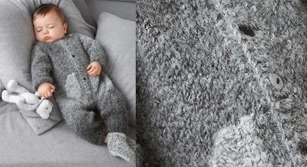 tricoter combinaison pour b b laine et tricot. Black Bedroom Furniture Sets. Home Design Ideas