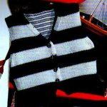 Comment tricoter un gilet pour bébé