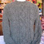 Modele pull homme tricoté main