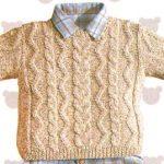 Tricoter un pull enfant
