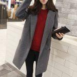 Manteau femme hiver en laine