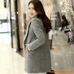 Manteau laine femme pas cher