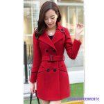 Manteau de laine femme