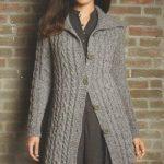 Modèle veste tricot femme