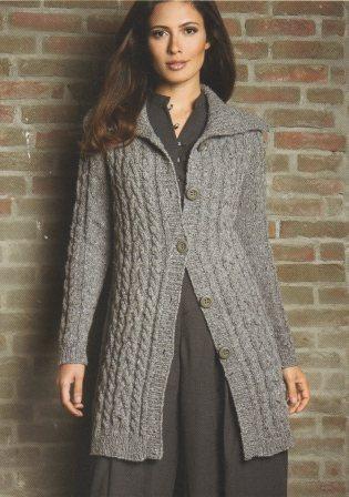 veste de laine femme tricoter