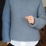 Modele tricot point mousse