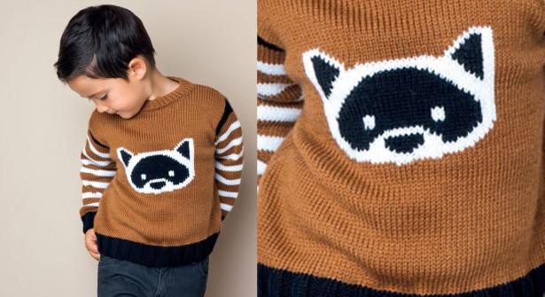Modele pull garcon a tricoter gratuit