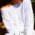 Modèle de tricot pour femme