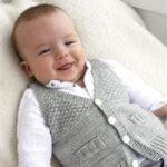 Gilet tricot bebe garcon