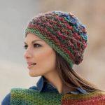 Modèle bonnet tricot femme