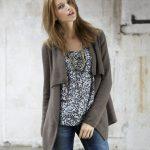 Modele tricot facile gilet femme