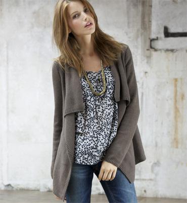 modele tricot femme gilet
