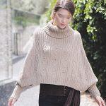 Modele poncho tricot gratuit