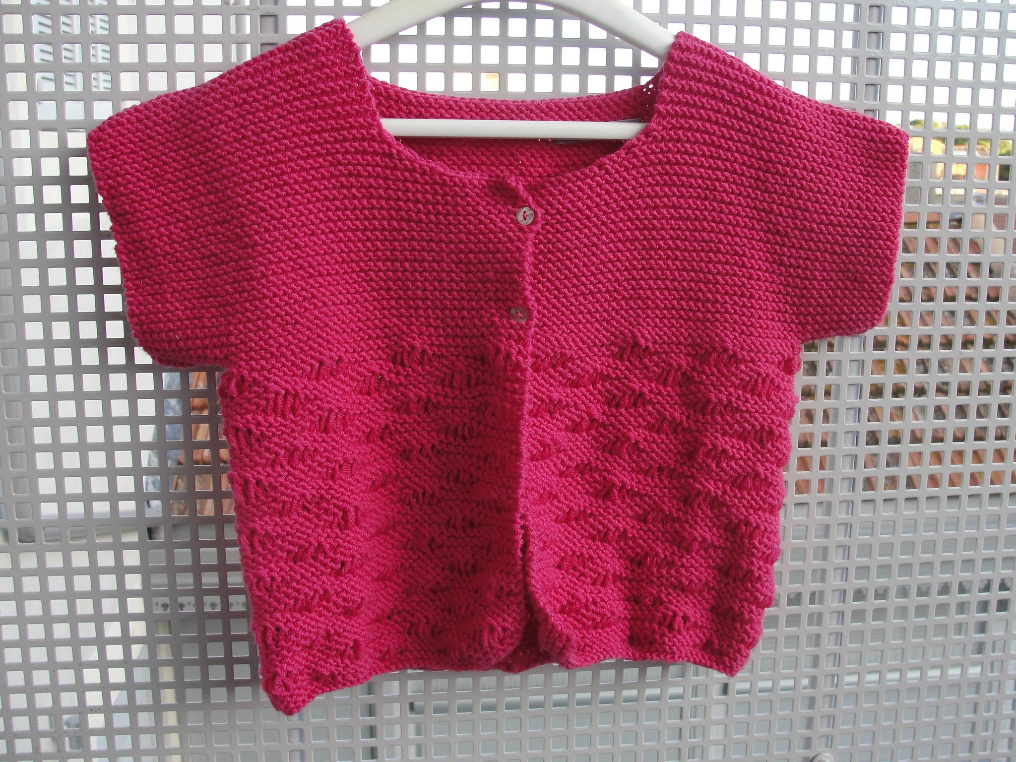 Modele pull a tricoter fille laine et tricot - Gratuit de fille ...