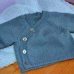 Modele gilet bébé tricot gratuit