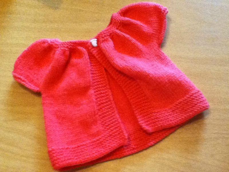 modele tricot bebe facile et gratuit