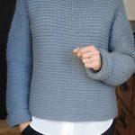 Tricoter un pull facile