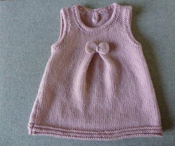modele tricot layette fille gratuit laine et tricot. Black Bedroom Furniture Sets. Home Design Ideas