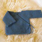 Brassière bébé laine modele gratuit