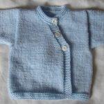 Brassière bébé tricot naissance
