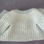 Comment faire une brassiere en laine pour bebe