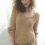 Modele pull femme à tricoter