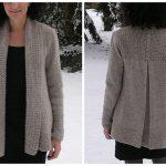 Gilet à tricoter
