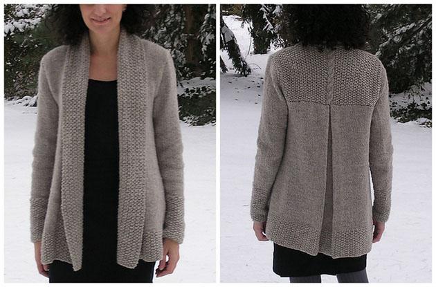 tricoter un gilet