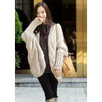 Gilet en laine long femme