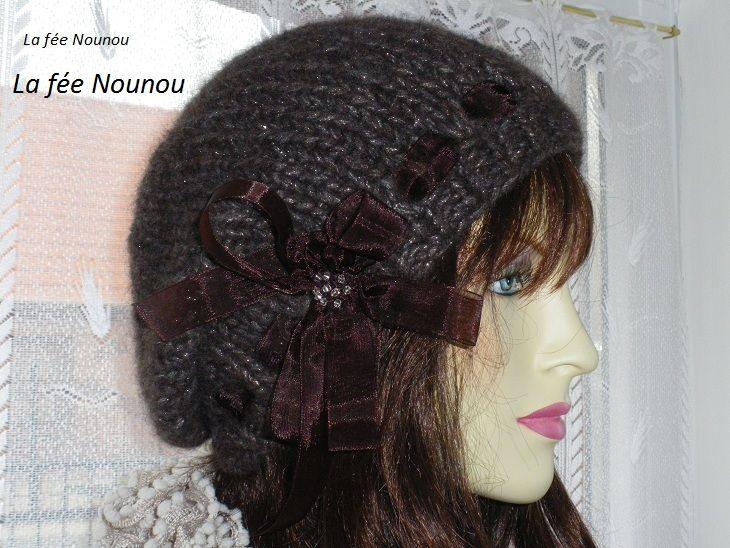 Bonnet femme tricot modele gratuit - Laine et tricot a0581aa396c