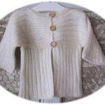 Comment tricoter un gilet pour fille