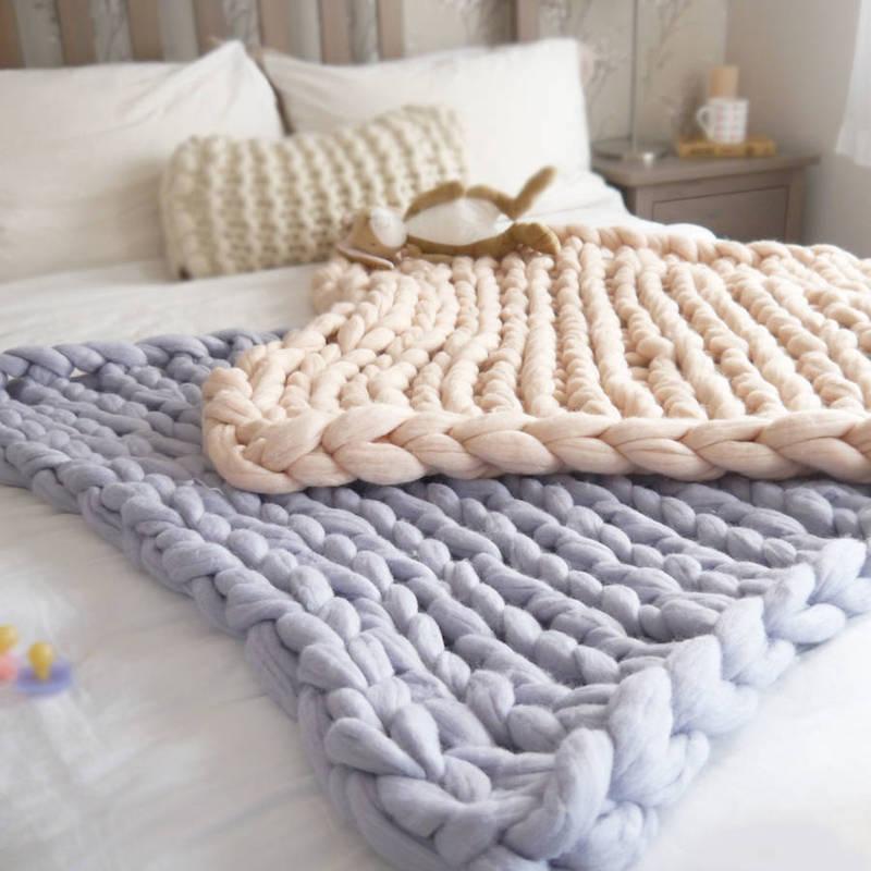 Tricot grosse laine laine et tricot - Tricoter une echarpe grosse maille ...