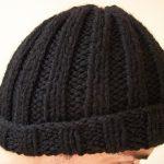 Modèle bonnet homme tricot gratuit