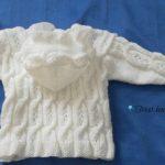 Gilet bébé tricot gratuit