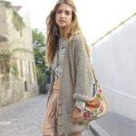 Modele gilet long tricot femme