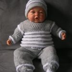 Ensemble tricot naissance