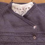 Modele gratuit tricot layette fille