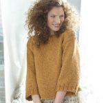 Modele pour tricoter un pull femme