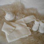 Brassiere naissance laine