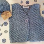 Explication tricot gilet sans manche bébé